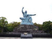 Nagasaki 02 - main statue in the Peace Park
